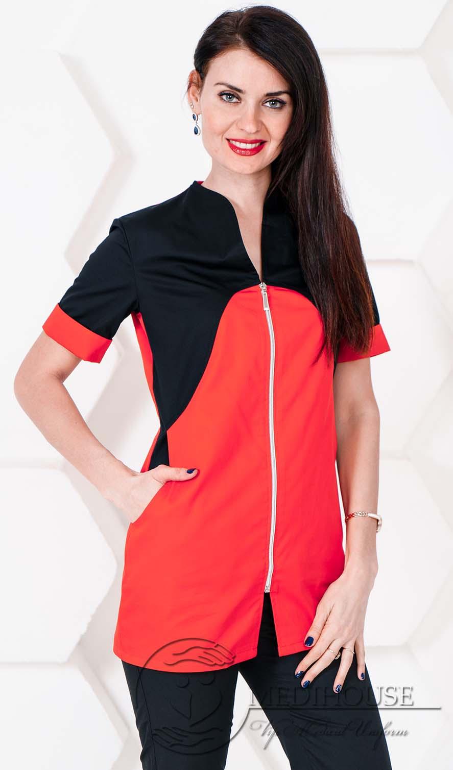 Женский медицинский блузон мод. 1.6 R&B