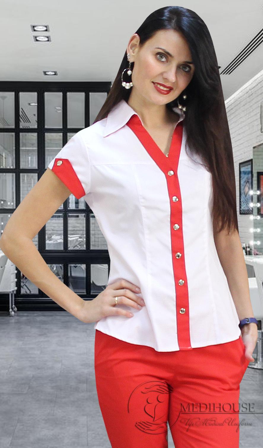 Женский медицинский блузон мод. 25 Color