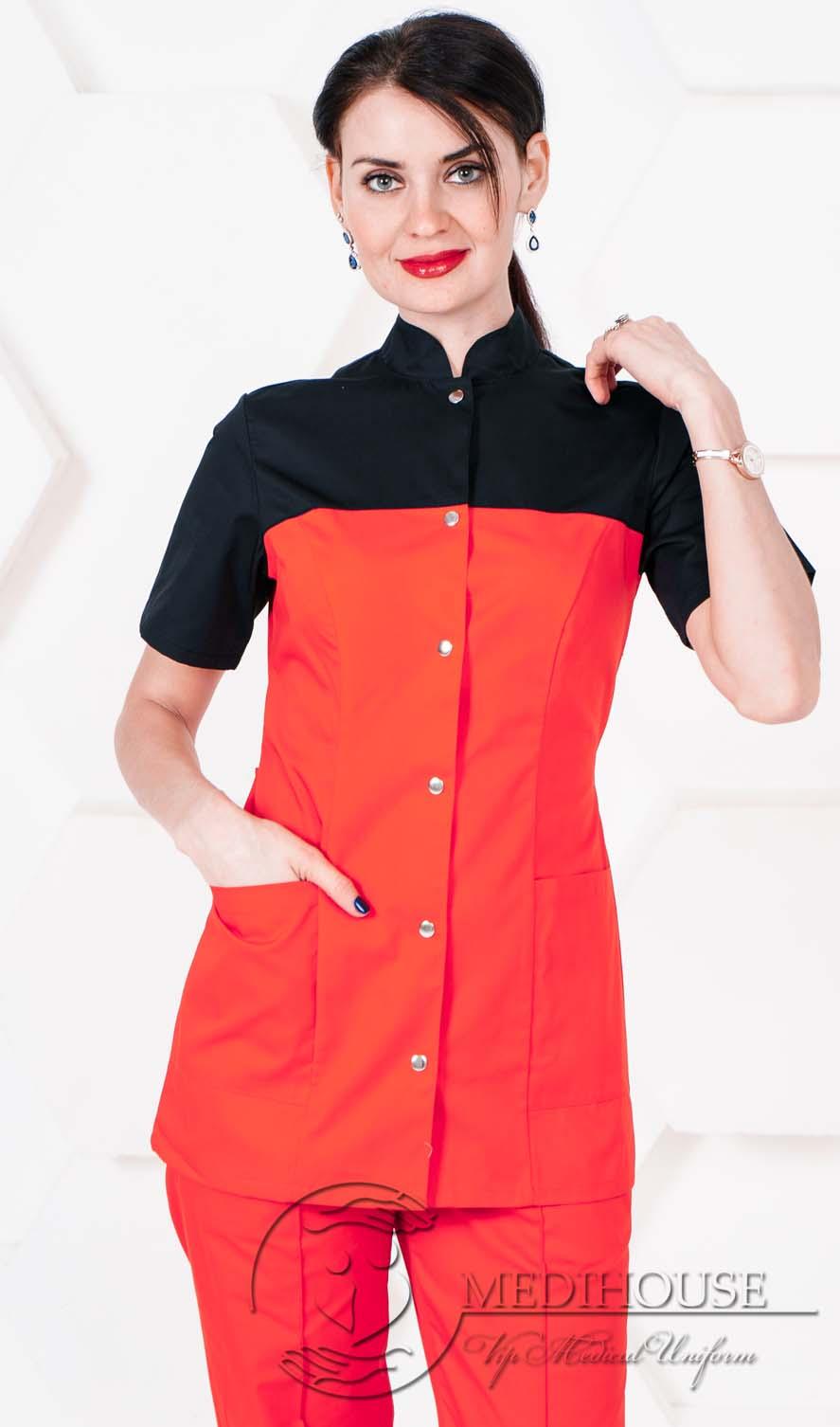 Женский медицинский блузон мод. 1.2.1 R&B